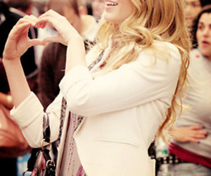 blake lively, gossip girl, and heart image