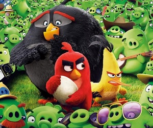 game, wallpaper, and angry birds image