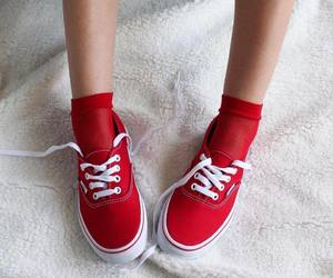 classic, red, and shoes image