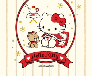 animal, cat, and hello kitty image