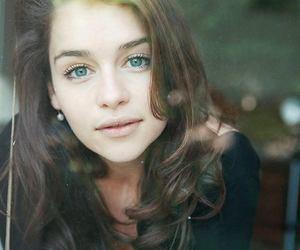actress, emilia, and green image