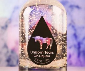 unicorn, drink, and tears image