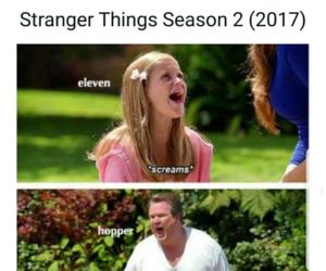 eleven, hopper, and memes image