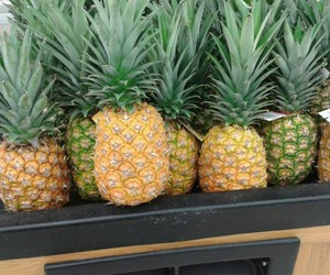 summer, pineapple, and fruit image