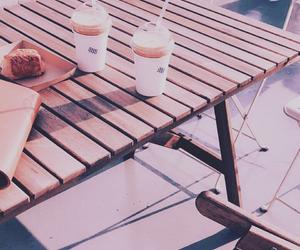 coffe, purple, and tumblr image