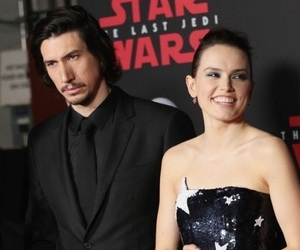 world premiere, adam driver, and daisy ridley image
