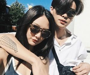 couple, asian, and ulzzang couple image