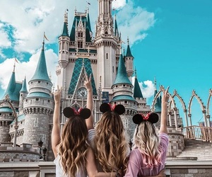 disneyland, disney, and friends image