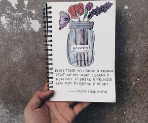 journal, promise, and quotes image