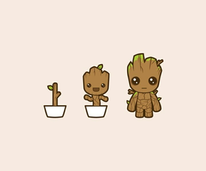 groot and baby groot image