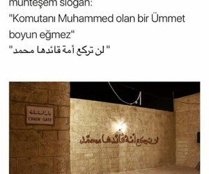 slogan, sözler, and musluman image