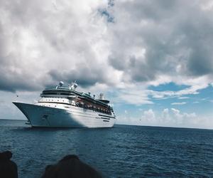 bahamas, beach, and cruise image