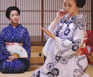 culture, geisha, and japan image