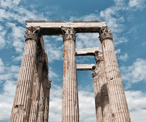 Greece, Temple, and travel image