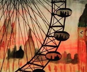 aquarell, art, and london image