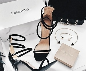 shoes, Calvin Klein, and heels image