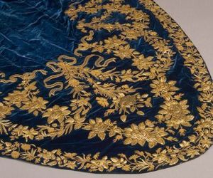 aesthetic, gold, and fabric image