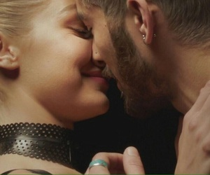 zayn malik, gigi hadid, and kiss image