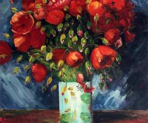 beauty, flowers, and vincent van gogh image