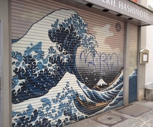 aesthetic, art, and waves image
