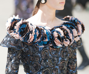chanel, Couture, and fashion show image