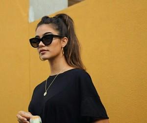 beauty, fashion, and sunglasses image