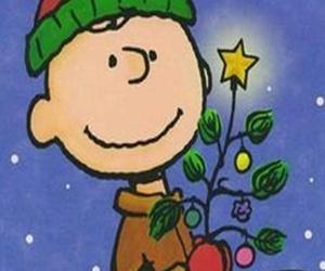 charlie brown, snoopy, and christmas image
