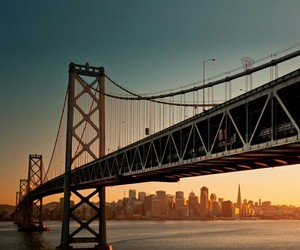 california, cities, and golden gate image