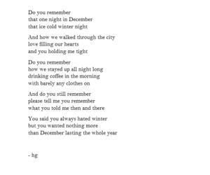 december, heartbreak, and love story image