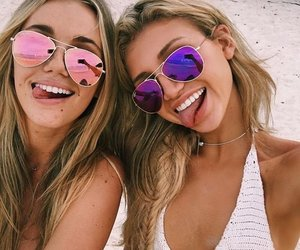 girl, friendship, and friends image