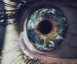 eye and beautiful image