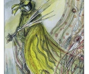 art, colorful, and tarot image