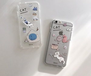 cat, aesthetic, and case image