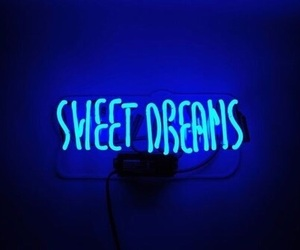blue, neon, and neon lights image