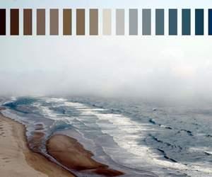 art, beach, and blue image