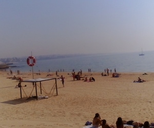 beach, happy, and good life image