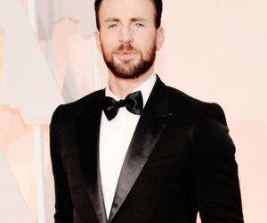 chris evans, oscar, and handsome image