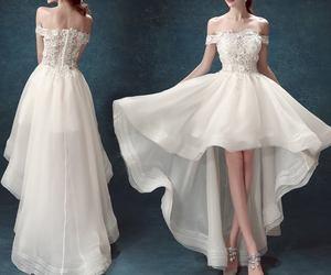 bride dress and wedding dress <3 image