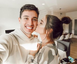 gabriel conte, jess conte, and couple image