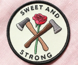 rose, strong, and sweet image