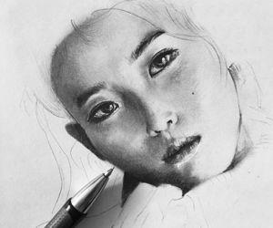 art, draw, and artwork image