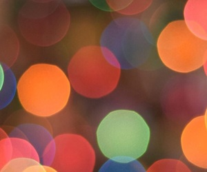 blur, colorful, and december image