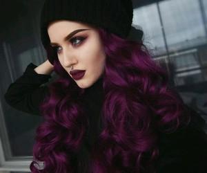 purple, hair, and purple hair image