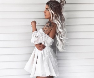 hair, fashion, and dress image