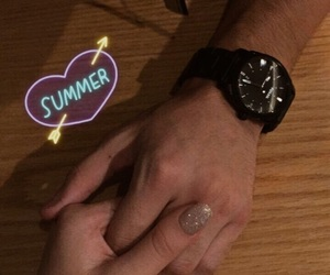 aesthetics, nails, and summer image