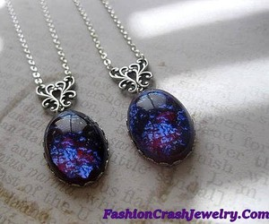 christmas, fashion, and fantasy necklace image