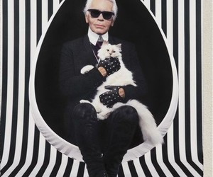 karl lagerfeld and style image