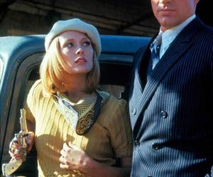 bonnie and clyde, Faye Dunaway, and Warren Beatty image