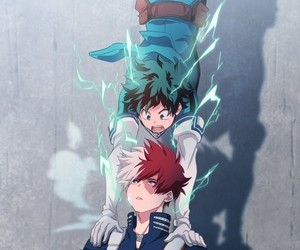 anime, my hero academia, and izuku midoriya image