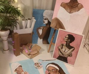 art, dandanjones, and girls image